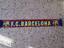 d10 sciarpa BARCELONA FC football club calcio scarf bufanda echarpe spagna spain