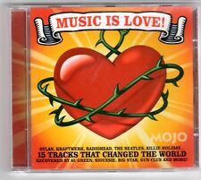 (GQ258) Music Is Love!, 15 tracks various artists - 2007 - Mojo CD