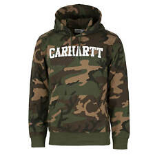 Carhartt wip hooded college sweat camo Laurel - Homme Pull à Capuche