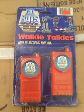 Rare Vintage Gobots Walkie Talkies MOC