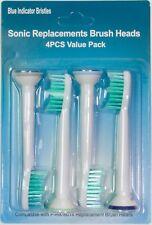 4 Ersatzbürsten für Philips Sonicare ProResults HX6014  Bürstenköpfe Zahnbürste