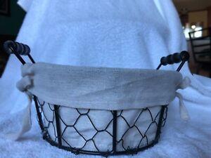 Decorative Chicken Wire Baskets Set of 2