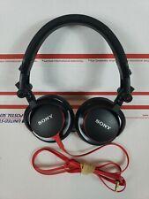 Sony MDR-V55/BR Studio Moniter DJ Style Red/Black Headphones
