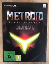 Metroid ¤ GERIN SAMUS restituisce Legacy Edizione Nintendo 3 DS-nessun gioco-si prega di leggere