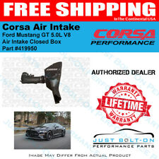 CORSA Air Intake Closed Box for 2015-2017 Ford Mustang GT 5.0L V8 #419950