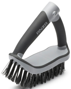 Anza Two Handed Wire Brush (Heavy Duty/Grill/Oven Cleaner Tool) 672008