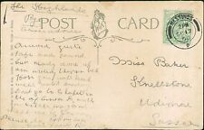 Miss Baker. Knellstone, Udimore, Sussex  1908     (QR1543)