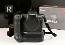Canon EOS R 30.3MP Digital Camera - Black (Body Only) With Battery Grip BG-E22