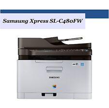 Samsung Xpress SL-C480FW Multifunktion Farblaserdrucker Kopierer Fax WLAN NFC ac