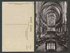 1910s CANTERBURY CATHEDRAL CHOIR ENGAND UK RPPC REAL PICTURE POSTCARD