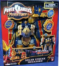 Power Rangers Mystic Force Deluxe SOLAR STREAK Megazord New Lights & Sounds 2006