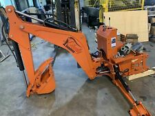 Lb7 backhoe attachment, subframe ready, optional mechanical or hydraulic thumb