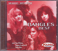 ZOUNDS - BANGLES - Manic Monday - Best - rare audiophile CD 1999 dig. rem.