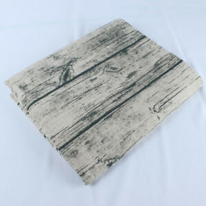 Vintage Tree Wood Grain Cotton Linen Fabric Home textile backdrops BY YARD