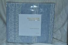 Hudson Park Collection Valentina FULL / QUEEN Duvet Cover Blue NEW - NIP