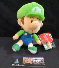 "Baby Luigi plush World of Nintendo Jakks Pacific 6"" toy"