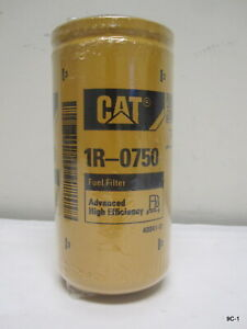 1R-0750 OEM Caterpillar Fuel Filter 1R0750 Genuine CAT 2910-01-444-9487