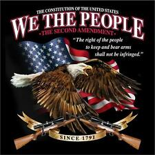 WE THE PEOPLE CONSTITUTION 2ND AMENDMENT TEE SHIRT SIZE XXL adult T283  tshirt