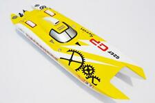 G30F TigerShark Well Painted Gas Boat Hull for Advanced Player Catamaran YLW KIT
