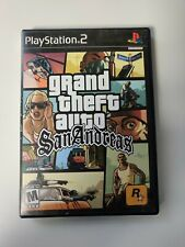 GTA: San Andreas PlayStation 2 ps2 complete, Manuel, map, and FREE MEMORY CARD!
