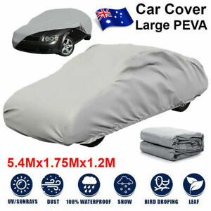 Large Car Cover Lightweight Waterproof Dust Large Sun Ute Universal Weather NEW