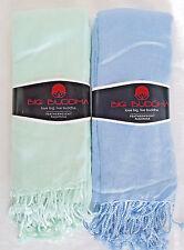 Big Buddha Scarves 2 Featherweight Pashmina Scarf Light Blue &  Mint Green NEW