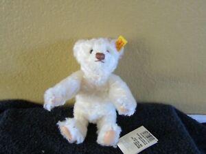 STEIFF BEAR 667657 GENUINE MOHAIR NEW WITH TAGS - RARE