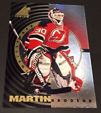 MARTIN BRODEUR 1997-98 Pinnacle Inside INSIDE TRACK Insert Foil Card #6  DEVILS