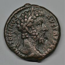 QUALITY COPPER AS OF MARCUS AURELIUS: FELICITAS. ROME, AD 172. RIC: 1020. V.F+