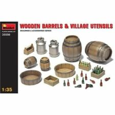 Componenti e accessori in legno per il modellismo statico scala 1:35
