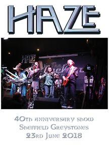 Haze 40th anniversary DVD