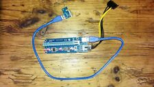 0.6m USB 3.0 PCI-E 1x to16x Extender Riser Card Adapter with SATA Power Cable