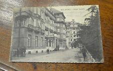 CARTOLINA BOLZANO HOTEL LAURIN VIAGGIATA DEL 1925 SUBALPINA ZZ