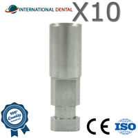 10 Analog for Regular Platform Titanium, Hex Abutment Dental Implant Dentist