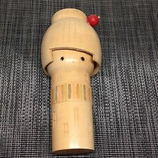 Vintage Kokeshi 16.50 cm Japanese Antique Wood Doll From Japan ko02