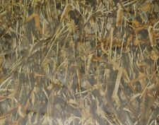 """TRUE TIMBER FLOODED SHEER DUCK BLIND CURTAIN CAMO POLYESTER FABRIC BY YARD 57""""W"""