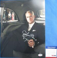 ROGER STERLING!! John Slattery Signed Cool MAD MEN 11x14 Photo PSA/DNA