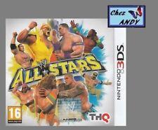 WWE ALL STARS (en boite avec notice+PIN) jeu de catch pour console NINTENDO 3DS
