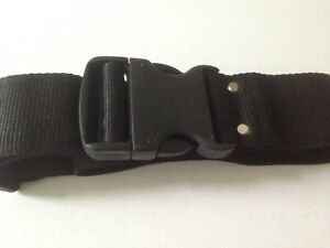 NO202  Webbing Belt with Quick Release Buckle Flexible Adjustable Military