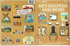 KEY  KEEPERS &  MORE #121  plastic canvas  PATTERN  BOOK  1988 Kappie  (#1863)