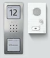 Siedle CAB 850-1 E/W Audio-Set Basic, 1 Ruftaste, edelstahl gebürstet (210008742