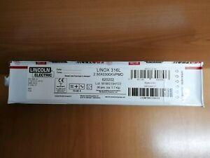 ELETTRODI  ELETTRODO ACCIAIO INOX 316Lsi 2,5X300 CF. 90pz  LINCOLN ELECTRIC
