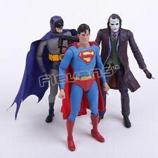 Action Figure Toys Comic Book Heroes Superman Batman Joker PVC TV Movie Gift New