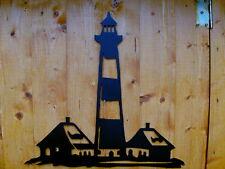 """aus STAHL, Leuchtturm """"Westerhever"""" Nordsee, Wahrzeichen, handgefertigte DEKO"""