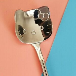 Hello Kitty Teaspoon cosy summer ice cream spoon tea coffee self care cute kawai