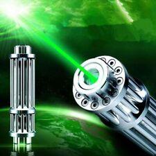 532nm Green Laser Pointer Pen Adjustable Focus Visible Beam Light High Power