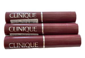 Lot Of 3! Clinique Almost Lipstick in Black Honey, Travel Size .04 Oz.