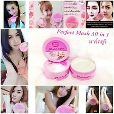 Yuri Perfect Mask Cream All-in-1 Healthy Whitening Lightening Facial Body Skin