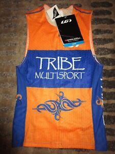 Tribe Multisport Running Cyclng Shark pro Louis Garneau Jersey M Med Adult NEW