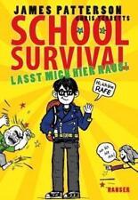 School Survival 02 - Lasst mich hier raus! von Chris Tebbetts und James Patterson (2015, Gebundene Ausgabe)